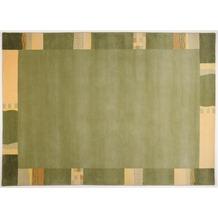 THEKO Nepalteppich - Avanti - grün 40cm x 60cm