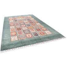 THEKO Orientteppich Kandashah 2676 green multi 217 x 316 cm