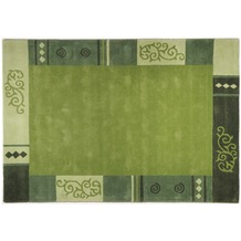 THEKO Teppich Ambadi, 3082, grün 60cm x 90cm