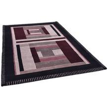THEKO Nepalteppich Baktapur Seta BT253 black 160 x 230 cm