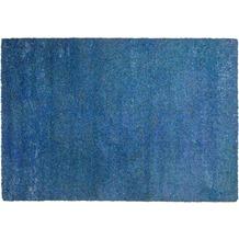 THEKO Teppich Color Shag 521 700 blau 57 x 90 cm