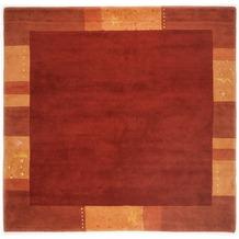 THEKO Nepalteppich Ganges, 991, rot 60cm x 90cm