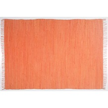Zaba Handwebteppich Dream Cotton Orange 40 cm x 60 cm