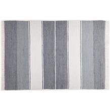 THEKO Teppich Happy Design, Stripes, anthracite 60cm x 120cm