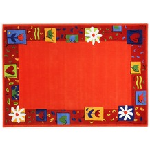 THEKO Kinderteppich Maui MH-3657-03 orange 120cm x 180cm