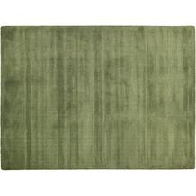 THEKO Teppich Melbourne1000, UNI, dark grün 67cm x 135cm