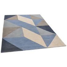 THEKO Nepalteppich Monsulo D3251 blue 161 x 233 cm