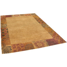 THEKO Nepalteppich Talonga Silk RSK495 terra multi 172 x 245 cm