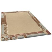 THEKO Nepalteppich Talonga Silk RSK526 beige multi 160 x 230 cm