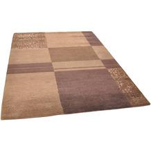 THEKO Nepalteppich Talonga Silk RSK545 brown multi 170 x 240 cm