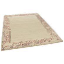 THEKO Nepalteppich Talonga Silk RSK575 beige 162 x 233 cm