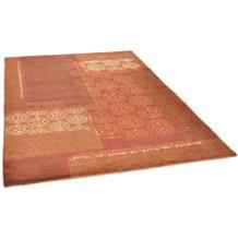THEKO Nepalteppich Talonga Silk RSK603 terra multi 164 x 233 cm