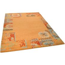 THEKO Nepalteppich Talonga Silk RSK630 terra multi 162 x 241 cm