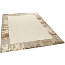 THEKO Nepalteppich Talonga Silk RSK660 sand multi 164 x 234 cm