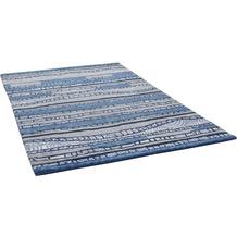 THEKO Nepalteppich Talonga Silk RSK686 blue multi 163 x 238 cm