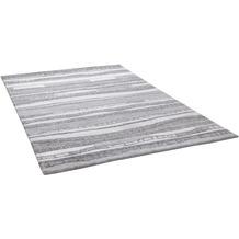 THEKO Nepalteppich Talonga Silk RSK686 grey multi 163 x 235 cm