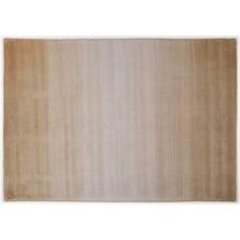 THEKO Teppich Wool Comfort, Ombre, beige 60cm x 90cm