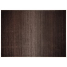 THEKO Teppich Wool Comfort, Ombre, choco 60cm x 90cm