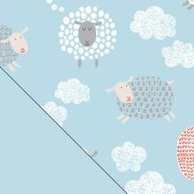 Theraline Bezug für das Original Schwangerschafts-& Stillkissen Happy Sheep 190 x 38 cm (Dessin 100)