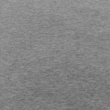 Theraline Bezug für das Original Schwangerschafts-& Stillkissen Jersey Melange mittelgrau 190 x 38 cm (Dessin 116)