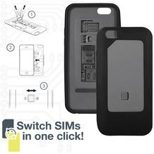 Thumbs Up Dual SIM Card Case für iPhone 6