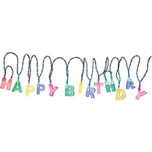 "TIB Heyne LED-Lichterkette ""Happy Birthday"", bunt, batterie- betrieben, 13 Multicolor LED"