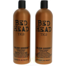 TIGI Bh Colour Goddess Tween Set Shampoo 750ml/Conditioner 750ml - For Electric Looking Hair Colour 1500 ml