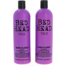 TIGI Bh Dumb Blonde Tween Set Shampoo 750ml/Conditioner 750ml Reconstruction For Chemically Treated Hair