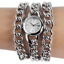 Timento Damenuhr mit Metallkettenarmband 510022500018