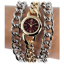 Timento Damenuhr mit Metallkettenarmband 510005000018