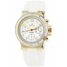 TimeTech Damenuhr mit Silikonband - gold 227502000001