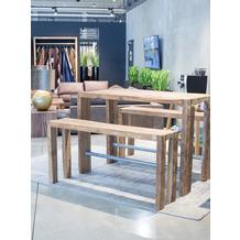 TINGO LIVING HAPPY HOUR Bartisch, 150x80/105 cm, recyceltes Teak