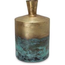 TINGO LIVING KRETA MYSTIC Dekovase, 20/32 cm, gold/patina