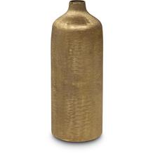 TINGO LIVING MIDAS Blumenvase 12,5x12,5/33 cm, gold antik