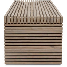TINGO LIVING MODULO Fuß, 51x20/37 cm, Teak vintage grau