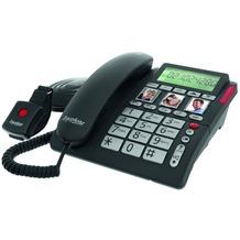 Tiptel Ergophone 1210 Großtastentelefon mit Funk-Norufsender