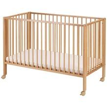 tiSsi® Kinderbett/Faltbett Buche natur