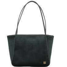 Titan Barbara Velvet Shopper Tasche 44 cm forest green