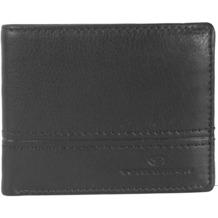Tom Tailor Basics Jerry Geldbörse Leder 15 cm schwarz