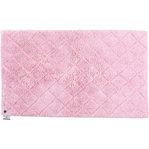 Tom Tailor Badteppich Cotton Pattern diamond 250 rose 60 cm x 60 cm