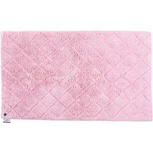 Tom Tailor Badteppich Cotton Pattern diamond 250 rose 60 cm x 60 cm
