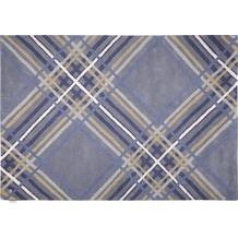Tom Tailor Home - Large Check blue 140 x 200 cm