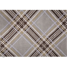 Tom Tailor Home - Large Check grey 140 x 200 cm