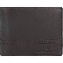 Tom Tailor Jerrie Geldbörse Leder 12 cm brown