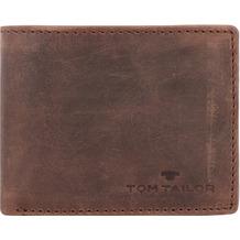 Tom Tailor Ron Geldbörse RFID Leder 10 cm brown