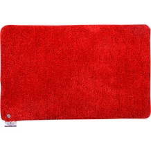 Tom Tailor Badteppich Soft Bath uni 200 rot 60 cm x 60 cm