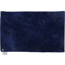 Tom Tailor Badteppich Soft, uni, 330 navy 60 cm x 60 cm