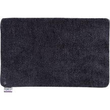 Tom Tailor Badteppich Soft Bath uni 601 anthrazit 60 cm x 60 cm