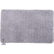 Tom Tailor Badteppich Soft Bath uni 640 silber 60 cm x 60 cm