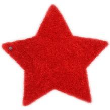 Tom Tailor Kinderteppich Soft Stern rot 100cm